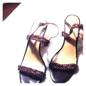 Braided Sandals Women's Size 7 Banana Republic